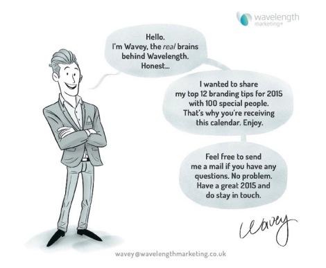 Wavey the brand man