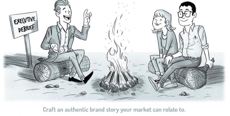 Craft a meaningful brand story